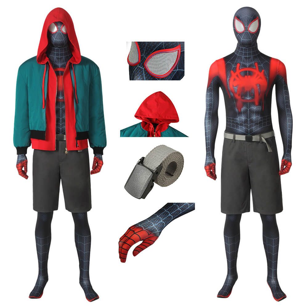 spider man miles morales all suits